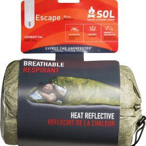 S.O.L. Survive Outdoors Longer 70 Percent Heat Reflective Escape Bivvy