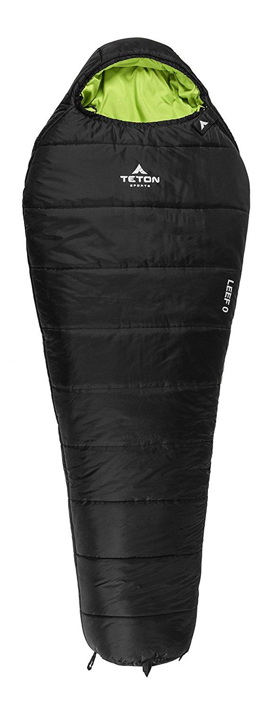 Teton Sports LEEF -18C Ultralight Mummy Sleeping Bag