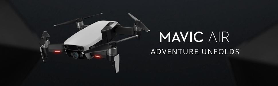 DJI Mavic Air Quadcopter with Remote Controller - Onyx Black-3
