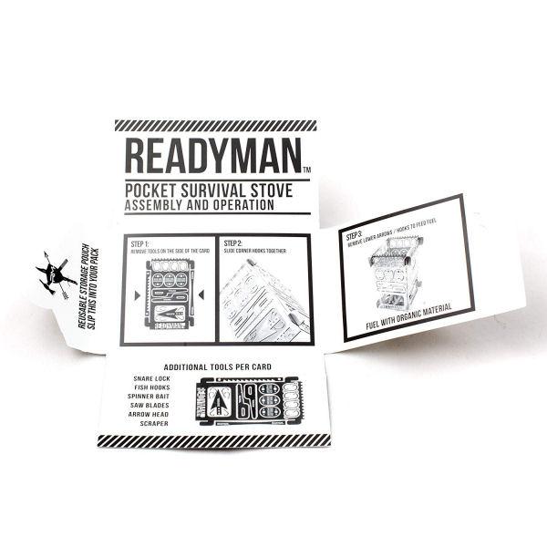 READYMAN Survival Stove 2.0-3