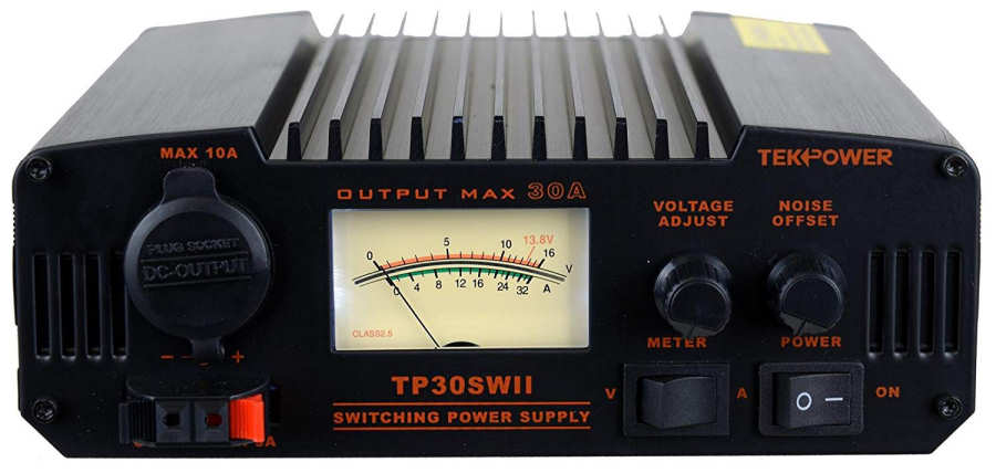TekPower TP30SWII 30 Amp DC 13.8V Analog Switching Power Supply with Noise Offset-1