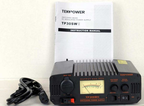 TekPower TP30SWII 30 Amp DC 13.8V Analog Switching Power Supply with Noise Offset-5