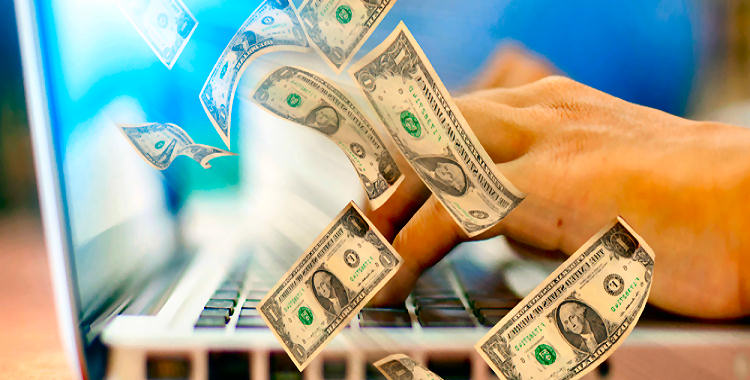 cash flow from online home business